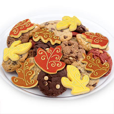 TRY27 - Fallen Leaves Cookie Tray